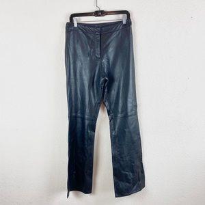 Cache | Black Leather Pants
